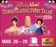 Disney Live Jr. in White Plains March 26-29