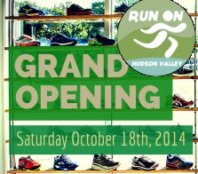 Run On Hudson Valley's new Croton-on-Hudson store opens October 18, 2014