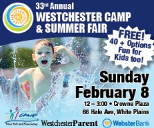 Westchester Camp Fair is February 8, 2015 in White Plains