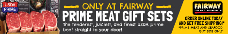 Prime Meat Gift Sets only at Fairway