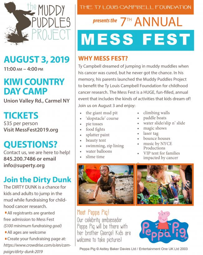 Muddy Puddles Mess Fest 2019 | Kids Out and About Westchester