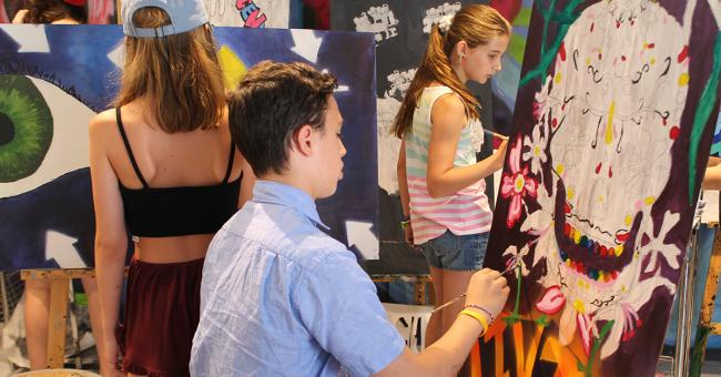 One River School Of Art Design Summer Camp Open House Kids Out And About Westchester